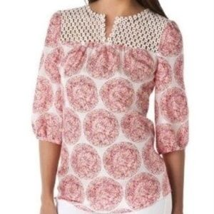 CALYPSO ST BARTH for Target 100% Silk Blouse